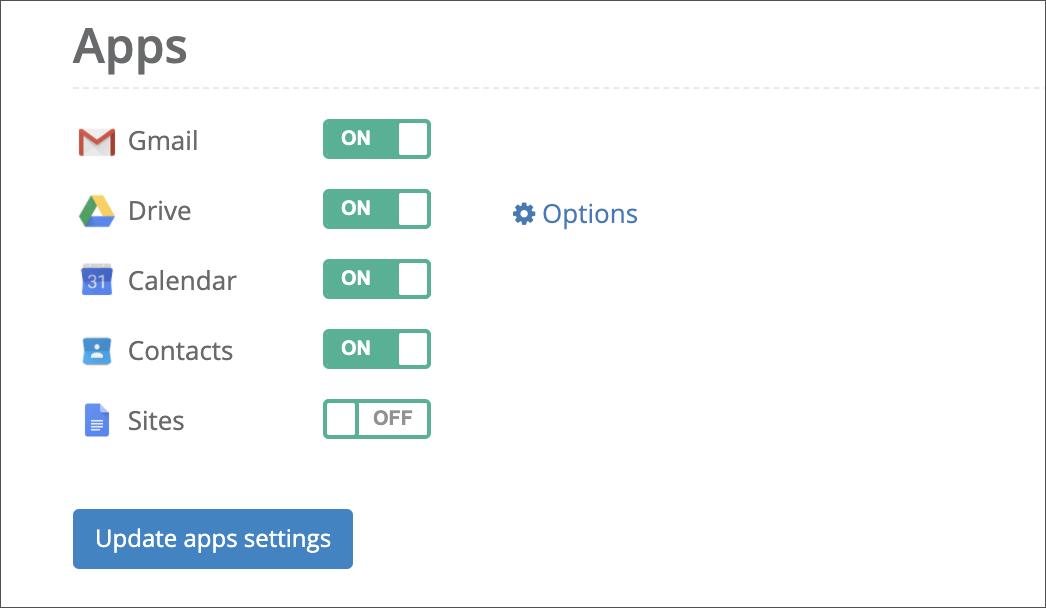 CubeBackup - More configuration options